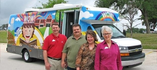 City of Georgetown's New Bookmobile